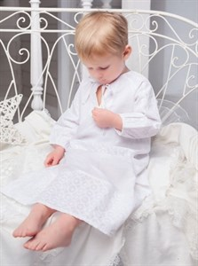 Сорочка крестильная для мальчика