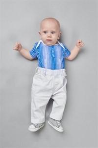 Боди с коротким рукавом для мальчика