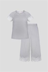 Комплект дом (блуза и брюки)
